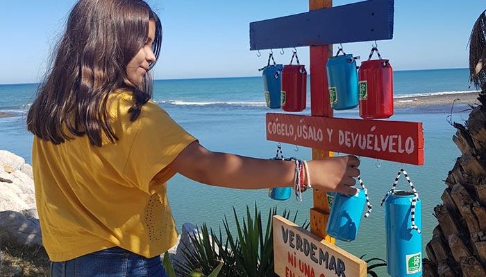 Orillas sin colillas es el programa de Verdemar para evitar que se dejen colillas en la playa
