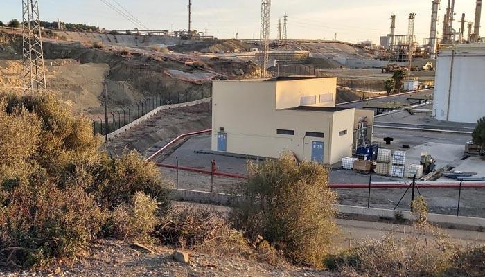 Lugar en el que se desarrollan las obras del fondo de barril