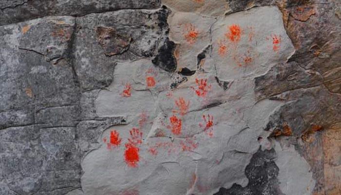 Vandalismo en el Santuario de Bacinete, en Los Barrios