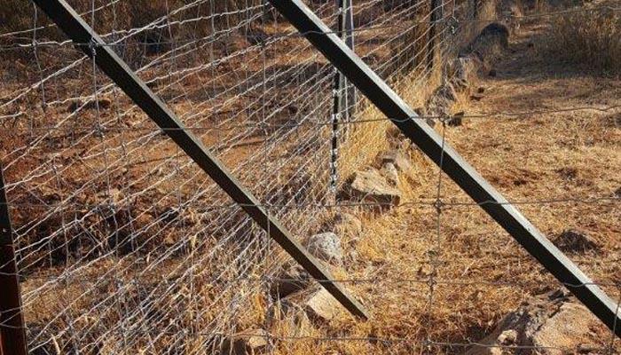Uno de los vallados denunciados por Verdemar