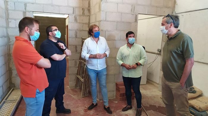 Emalgesa construye nuevos vestuarios y zonas de reunión para los trabajadores
