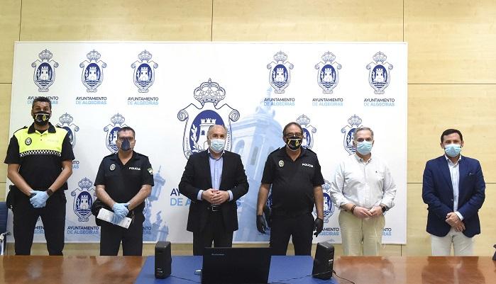 La Policía Local de Algeciras, un ejemplo de solidaridad