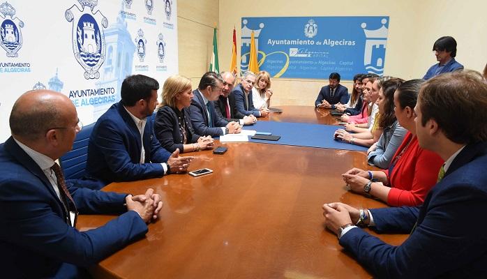 Antonio Sanz anuncia una Agenda Algeciras con proyectos para los próximos cuatro años