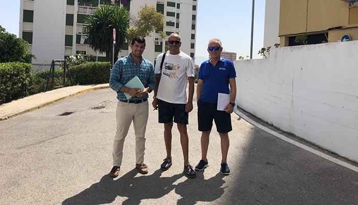 Imagen de archivo de otra visita vecinal en Algeciras