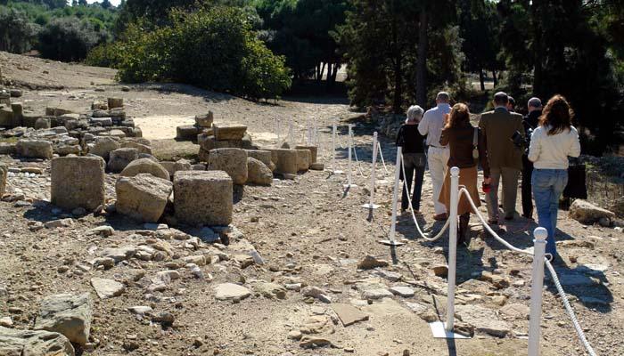 Imagen de archivo del Enclave Arqueológico de Carteia