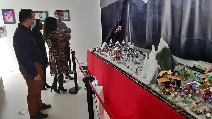 Esta mañana se ha inaugurado el diorama. Foto: lalínea.es