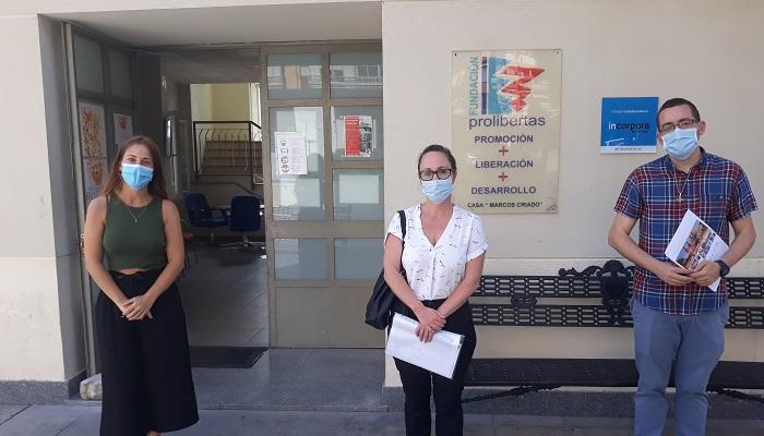 La Fundación Cepsa visita a Prolibertas y su Casa de Acogida en Algeciras
