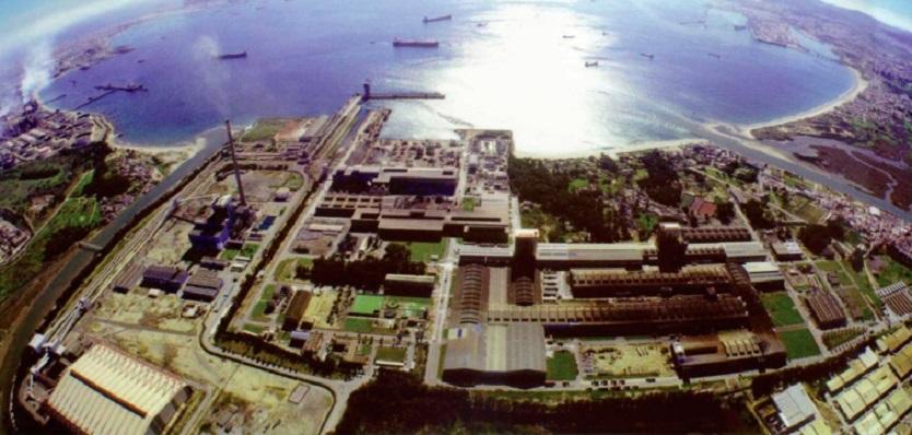 Vista aérea de Acerinox