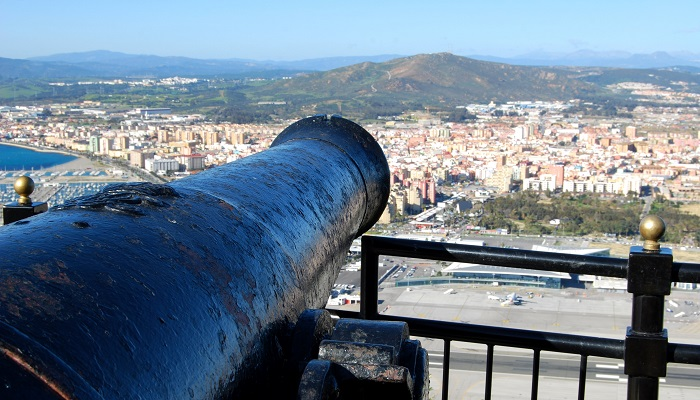 Vistas desde el Peñón de Gibraltar