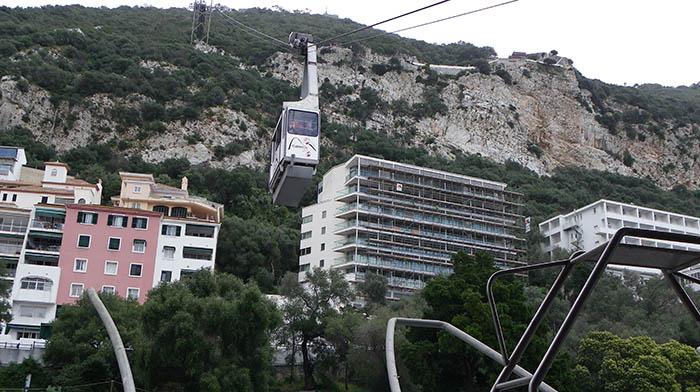 El funicular de Gibraltar, en una imagen de archivo