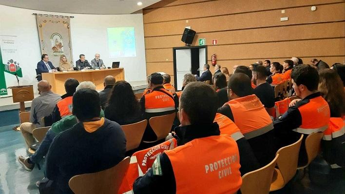 Sanz presidió el acto provincial del voluntariado de Protección Civil