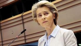 Úrsula von der Leyen, presidenta de la Comisión Europea. Foto Reuters