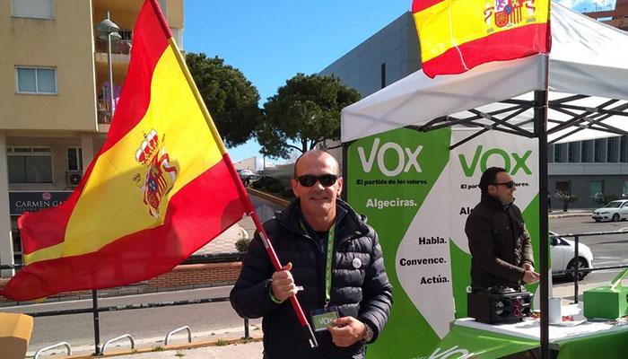 Imagen de archivo de un acto de Vox en Algeciras