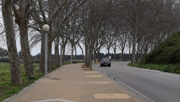 Imagen de la avenida Ciro Gil de Guadiaro