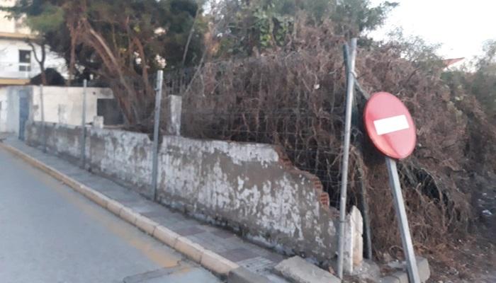 Vox San Roque pide al Ayuntamiento que actúe y arregle las zonas dañadas