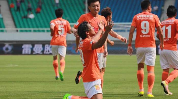 Equipo de fútbol de Wuhan