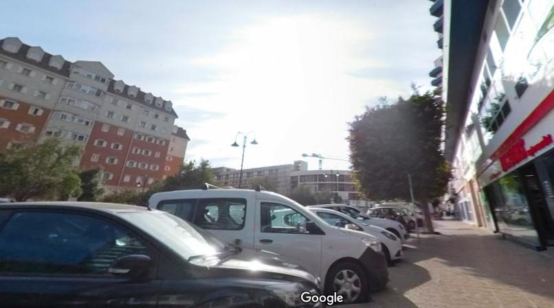 Waterport Road en una imagen de Google Maps.