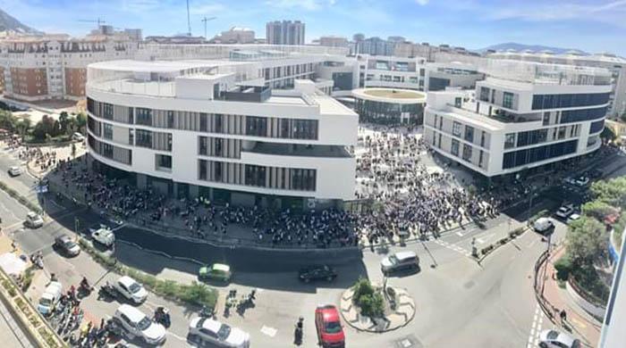Colegio Westside en Gibraltar. Foto Wikipedia