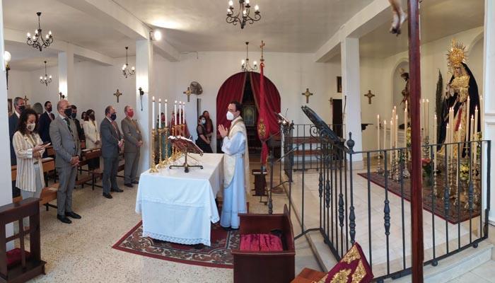 Un momento de la ceremonia de hoy domingo