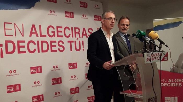 Salvador De la Encina (d) junto a Juan Lozano