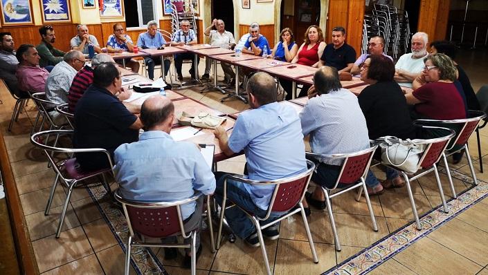 ASCTEG reunió en su sede a representantes de distintos sectores de La Línea