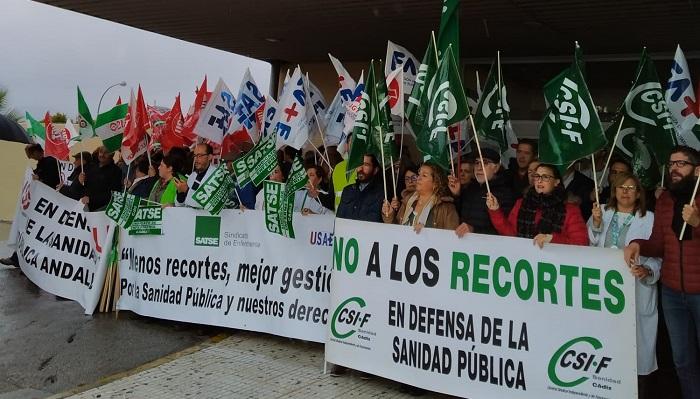 CSIF exige en el Punta Europa más personal para la Sanidad Pública