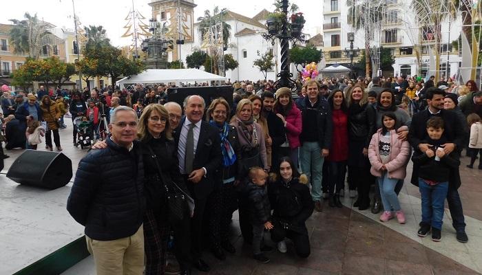 La Plaza Alta de Algeciras celebra las 'Campanadas Infantiles'