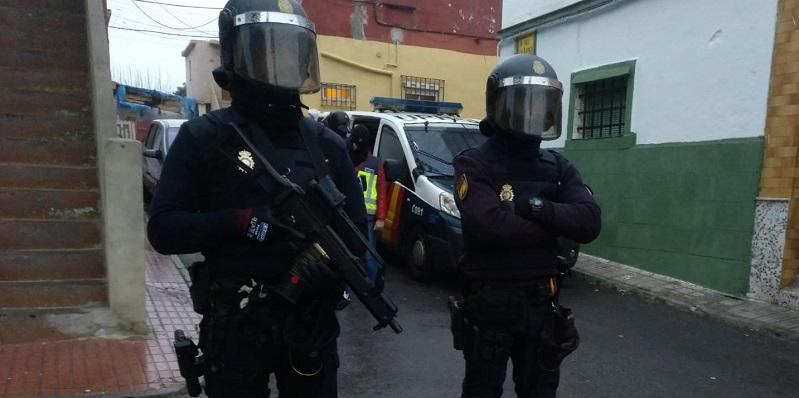 Dos agentes del Cuerpo Nacional de la Policía en una imagen de archivo