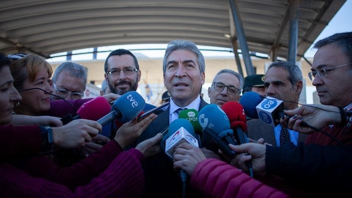 Lucrecio Fernández, este martes en La Línea