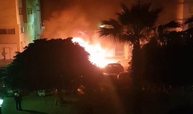El incendio se originó a las 5 de la madrugada