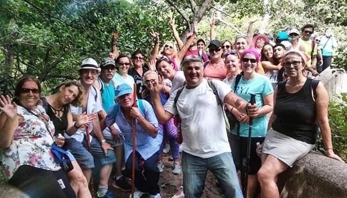 Éxito de asistentes a la Ruta Paco de Lucía y Río de la Miel en Algeciras