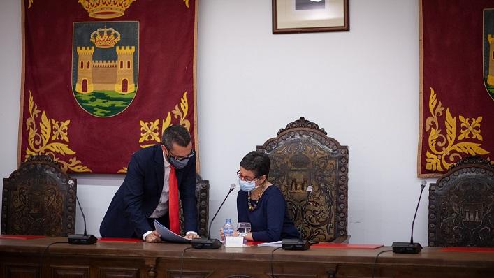 Juan Franco y Arancha González Laya