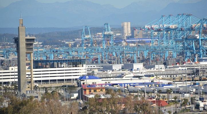 Una fotografía del Puerto de Algeciras