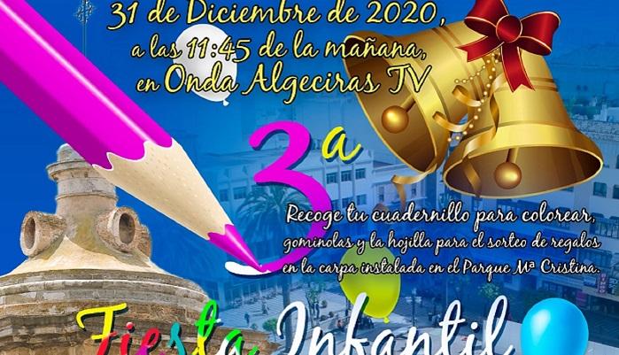 La 'Fiesta Infantil de las Campanadas', el 31 de diciembre en Algeciras