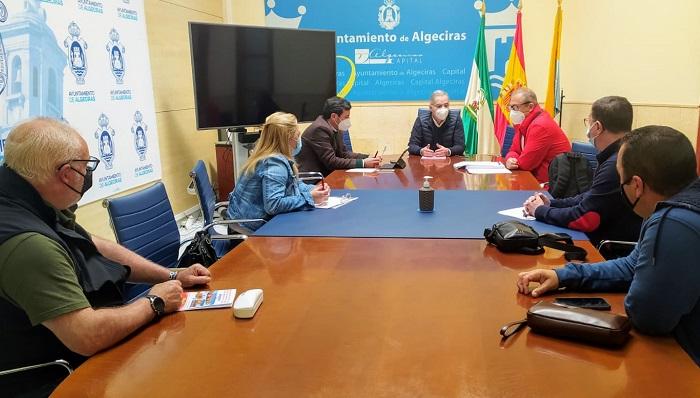 El Comité de Algesa se reúne con el Ayuntamiento de Algeciras