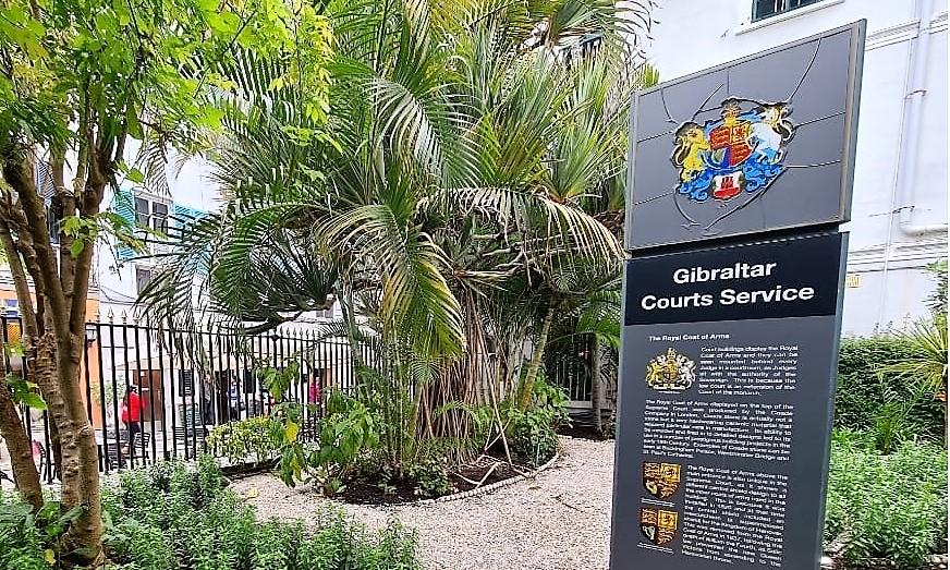 Sede del Tribunal de Justicia de Gibraltar. Foto NG