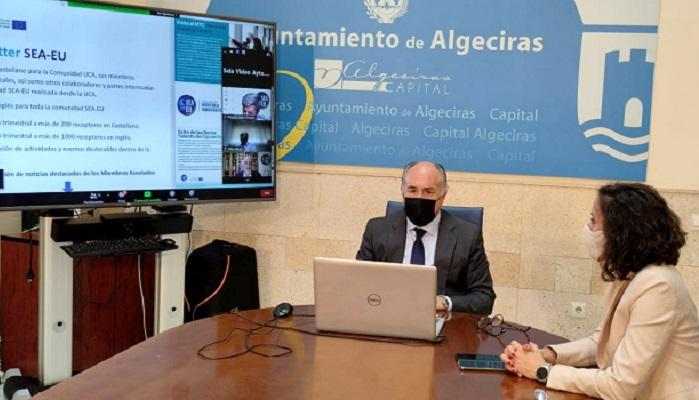 Landaluce pone en valor el proyecto de la Universidad de los Mares