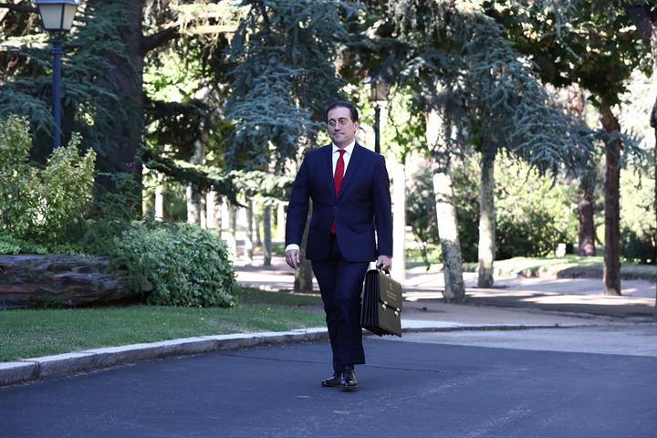 José Manuel Albares, ministro de Exteriores de España. Foto NG