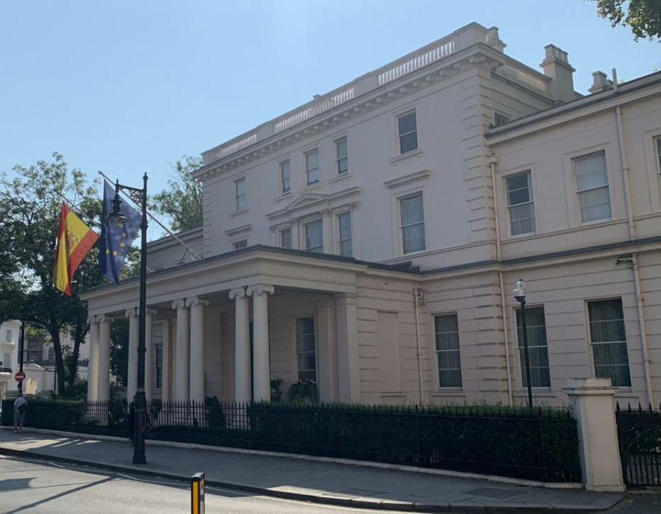 Embajada de España en Londres. Foto NG