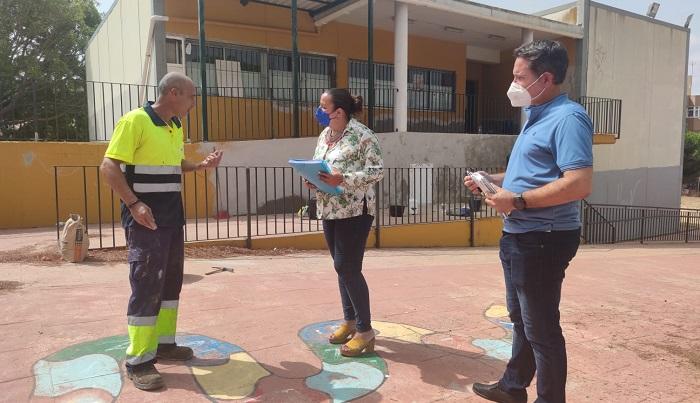 Educación acelera las obras del colegio San Bernardo de Algeciras