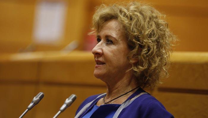 La senadora de Vox, Yolanda Merelo. Foto: Vox