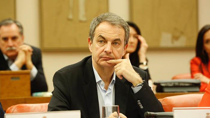 Zapatero, en una comisión del Congreso de los diputados