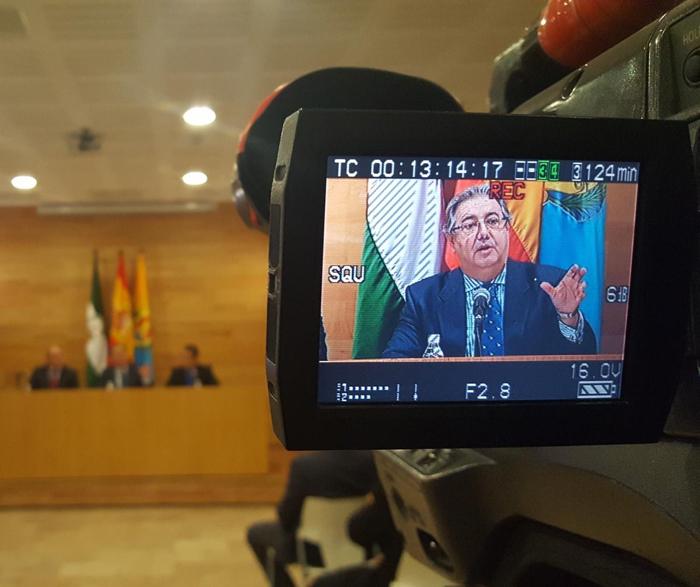 El ministro Zoido ha presentado el proyecto de nuevo CIE en Algeciras