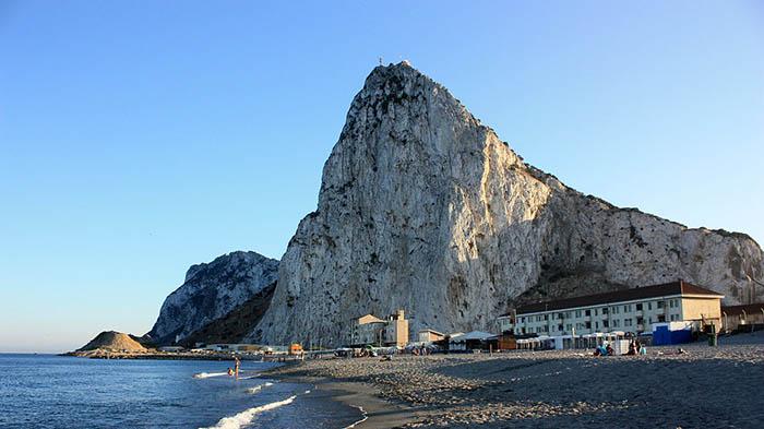 Eastern Beach en Gibraltar