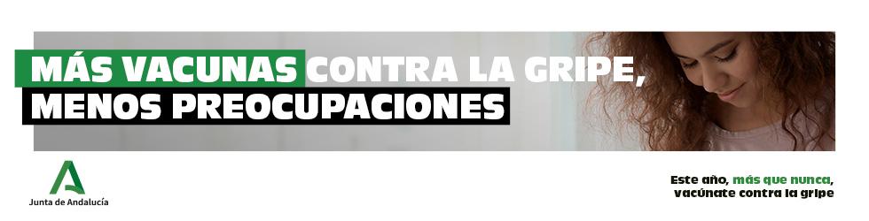 Campaña Vacunación Gripe - Junta de Andalucía