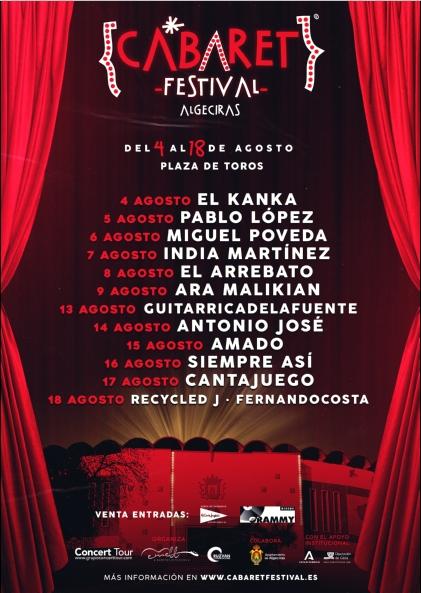 ALGECIRAS - CABARET FESTIVAL