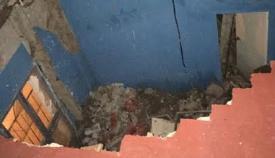 Adelante exige que se actúe ante el derrumbe de una vivienda en La Piñera