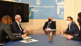 Landaluce se reúne con representantes de la empresa Correos