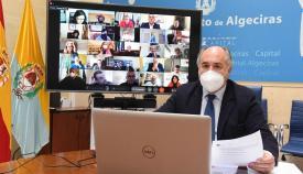 El alcalde de Algeciras participa en el Consejo de la Federación de Municipios