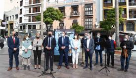 Los sanitarios, homenajeados en una exposición de fotos en Algeciras
